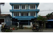 Gedung komersil 3 lantai utk kantoran/gudang lokasi strategis kota Medan
