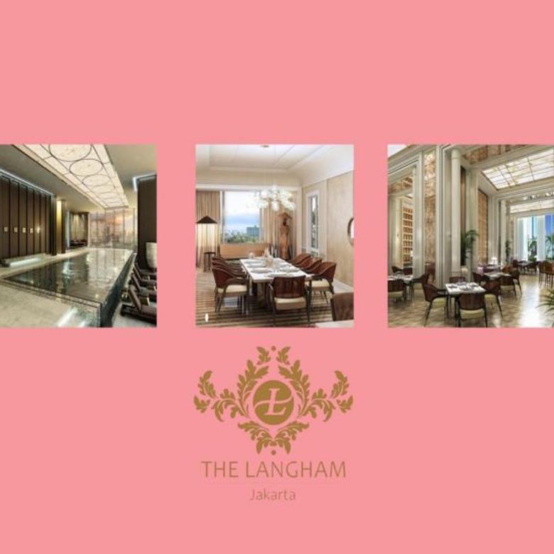 Jual Apartemen Termewah The Langham Residence @ SCBD – 3BR (351m2) Luxury