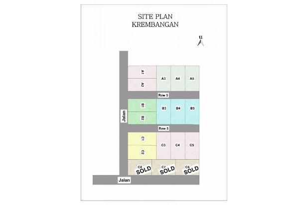 Bulanan Ringan, Rumah KPR DP 0 % di Krembangan 14417500