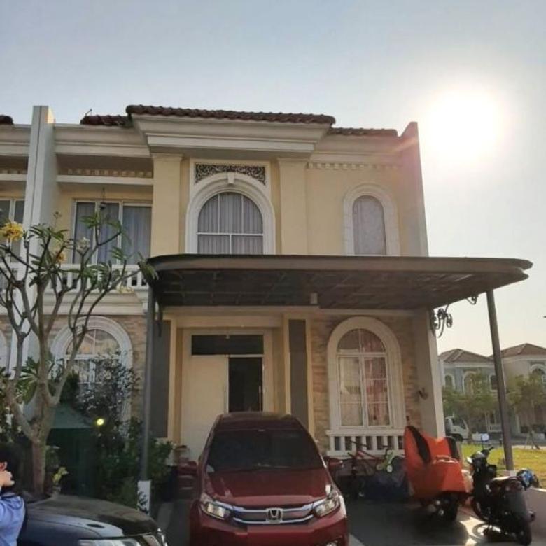Rumah Luas 8x17 Type 4KT Cluster La Seine JGC Jakarta Timur