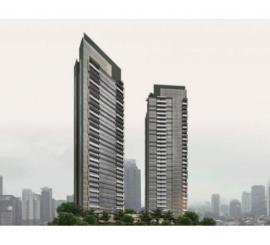 LaVie Suites at Kuningan type 3 BRTower PORTE, Lantai Marmer & Semi Furnis