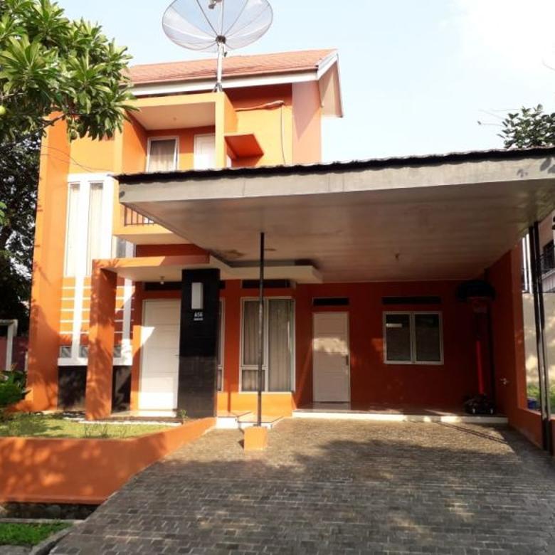 Rumah Second Asri Berkonsep Cluster Modern di Sukatani