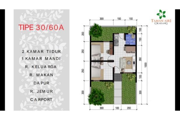 Rp9jt Rumah Dijual