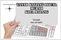 TANAH KAVILING MURAH KOTA MALANG