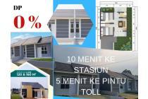 rumah DP0% 10 menit ke stasiun cilebut di cluster alamanda