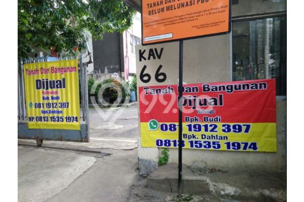 dijual tanah dan bangunan 17306680