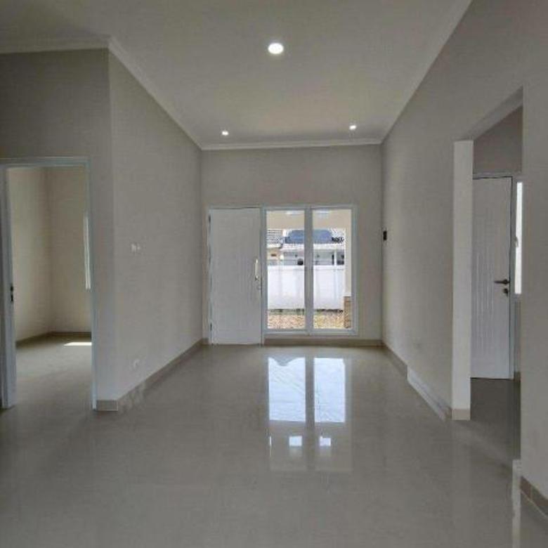 Rumah baru 1 lantai dalam perumahan besar GDC Cilodong Depok