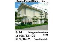 Rumah Darmo Permai Utara Surabaya Barat Baru Minimalis Murah Hook