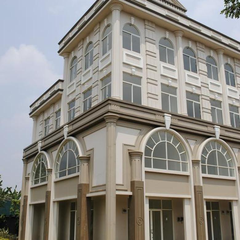 Ruko Cordoba Green Lake City , Uk. 6x15 ( Hoek ) , 4 Lantai , Hadap Jalan , Jakarta Barat