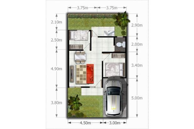 Rp315jt Rumah Dijual