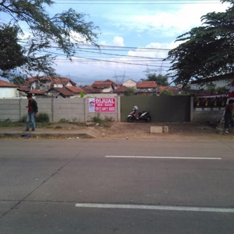 dijual tanah gudang jl raya rancaekek  Bandung timur nego