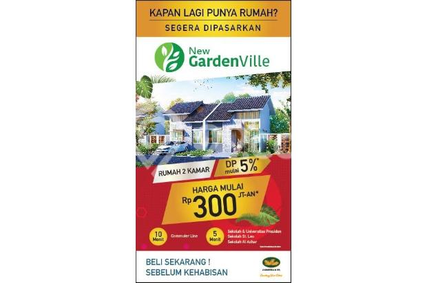 Garden Ville Jababeka Cikarang Dapatkan Promo Menarik Dp Mulai 5