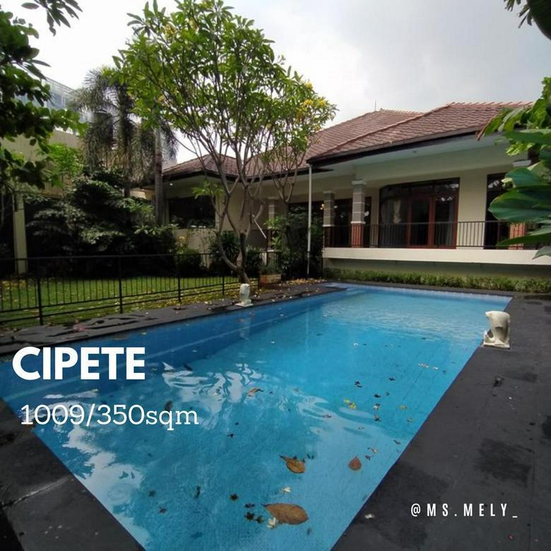 Rumah Bagus Dan Luas Di Cipete Utara Jakarta Selatan