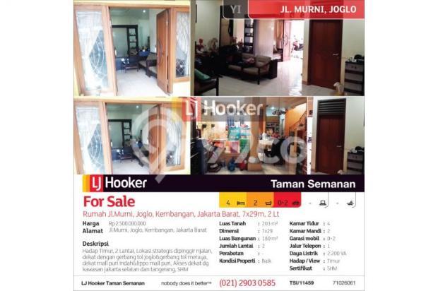 Rumah Jl.Murni, Joglo, Kembangan, Jakarta Barat, 7x29m, 2 Lt 12898894