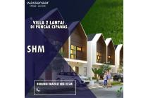 Villa 2 Lantai Di Kawasan Puncak Berlokasi 1000+mdpl Gn. Gede