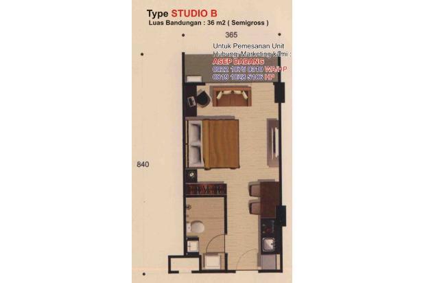 Rp886jt Apartemen Dijual