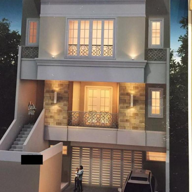 Rumah PIK Pantai Indah Kapuk Brand New Minimalis LT 180m2 Full Renov Jakarta Utara