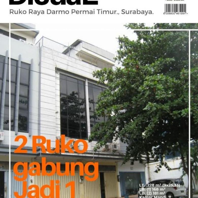Ruko Raya Darmo Permai Timur, Surabaya -Strategis, Parkir Luas