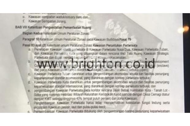 Dijual Tanah Strategis di Batu Pageh Ungasan Bali 17994643