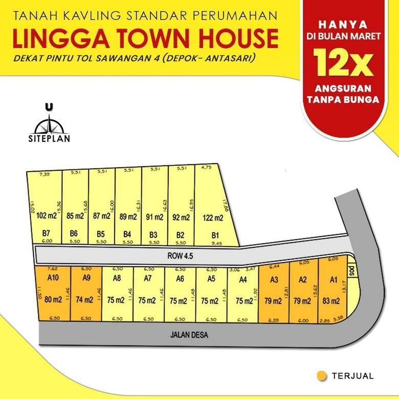 Bagus Buat Hunian, Pun Dekat Exit Tol Depok; Lingga Townhouse
