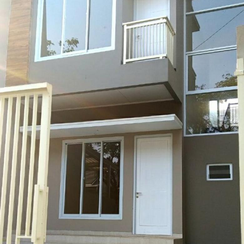 Villa Melati Mas Regency BSD City 2 Lantai Rumah Baru
