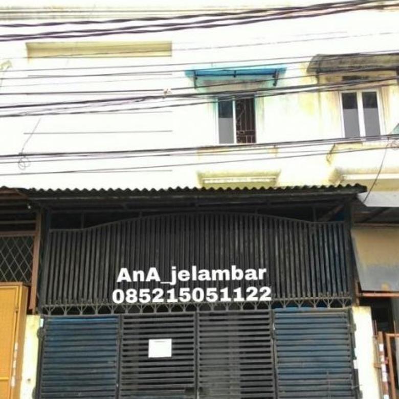 Rumah Murah 4x16m Lokasi Oke Akses Strategis di Jelambar