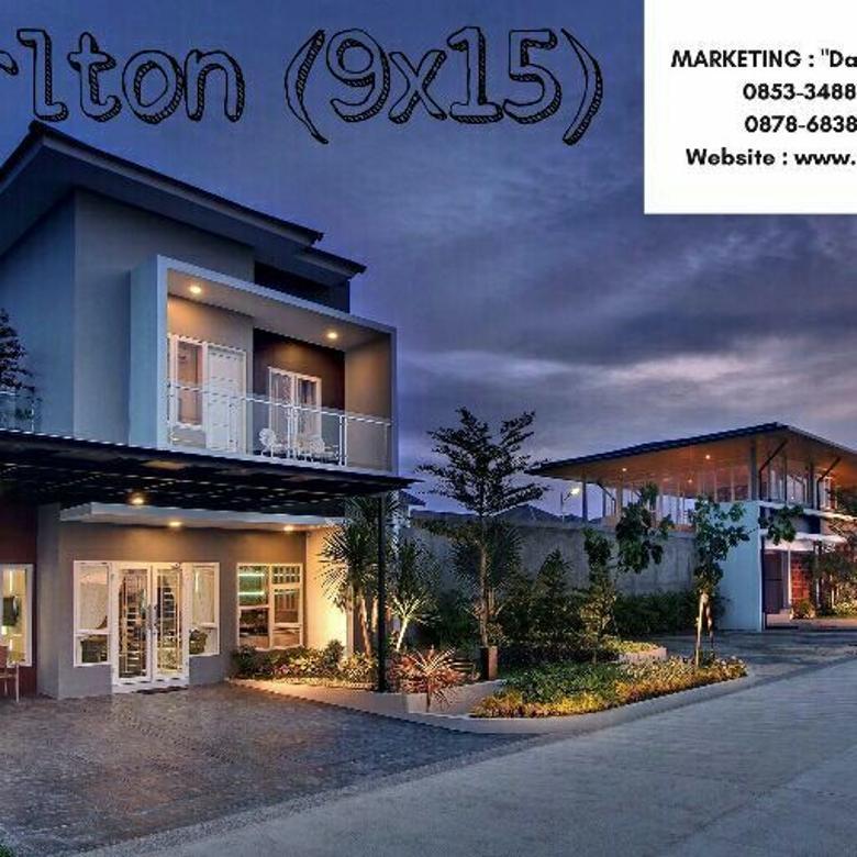 Rumah Medan SHM - Menteng Indah (Halton Place) - Type Carlton (177m2)