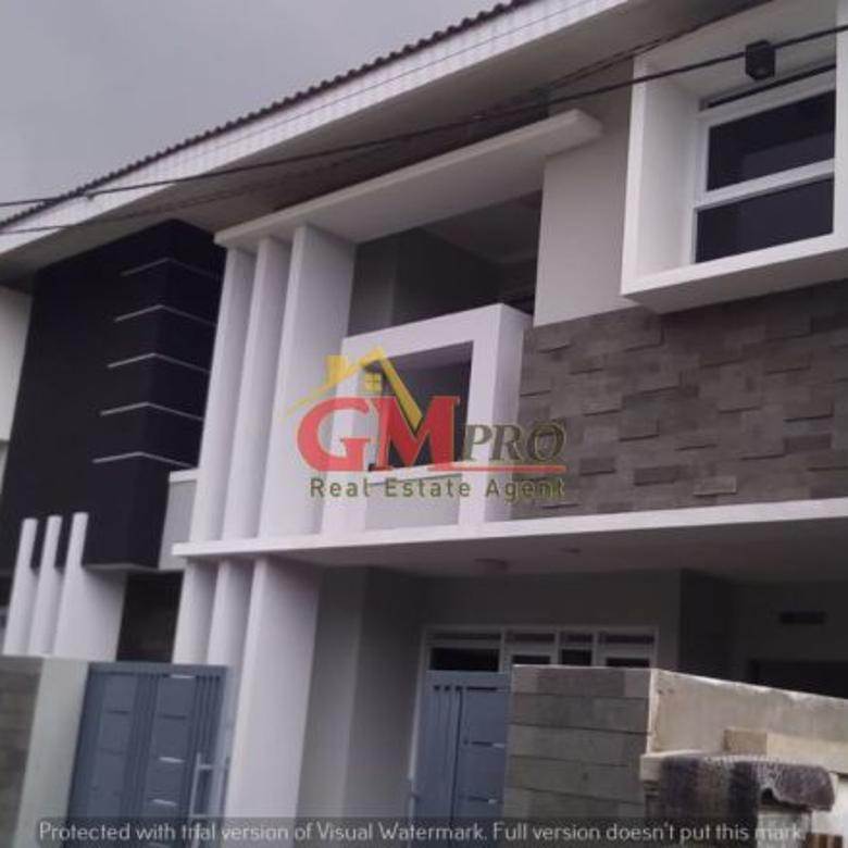 Dijual Rumah LUX Bangunan Baru 2LT Sayap BKR