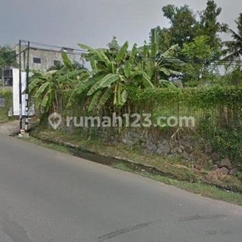 Tanah Komersil Pinggir Jalan Raya di Pamulang