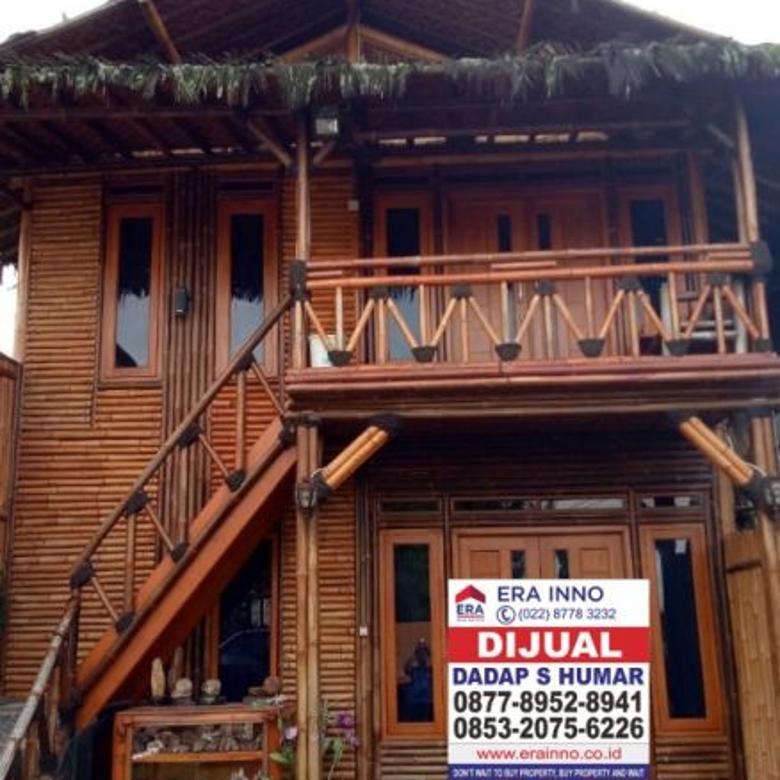 Dijual villa di Cikole Lembang Bandung berserta isi nya