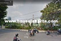 Tanah Wolter Monginsidi Jalan Senayan Kebayoran Baru Dijual bisa 8 Lantai