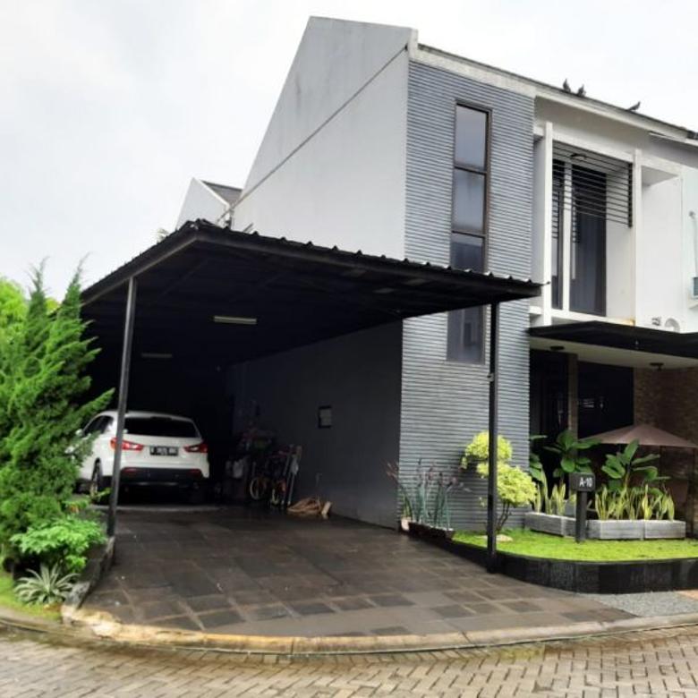 Rumah rapi furnished di Melia Residence Ciputat Tangsel