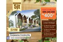 Villa Puncak Dijual Murah Fasilitas Glamping Area