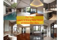 Luxury & Brand New House at Kebayoran Baru 3 Floor with Lift