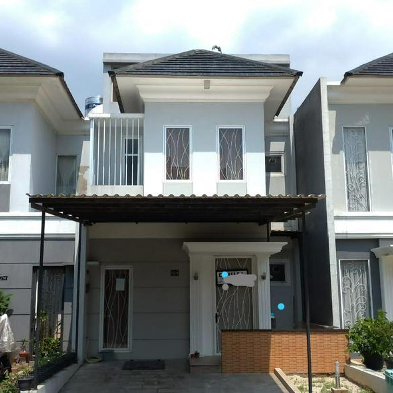 Rumah Casa Jardin Cluster F Furnished