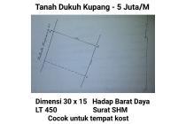 Tanah Dukuh Kupang Surabaya Cocok untuk Kos