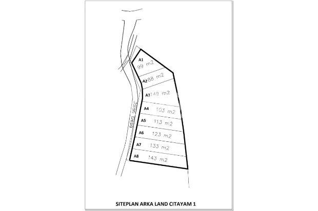 Miliki Aset Tanah 12 X Cicilan Tanpa Bunga di Citayam Depok 17150077
