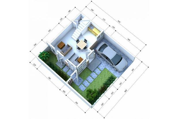 Rp124jt Rumah Dijual