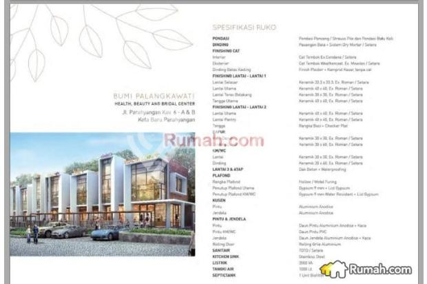 Dijual Ruko Primary Bumi Palangkawati Kota Baru Parahyangan 13243814