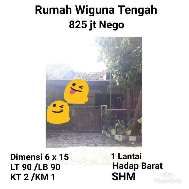 Wiguna Tengah Gunung Anyar Tambak Surabaya Timur 825jt Nego