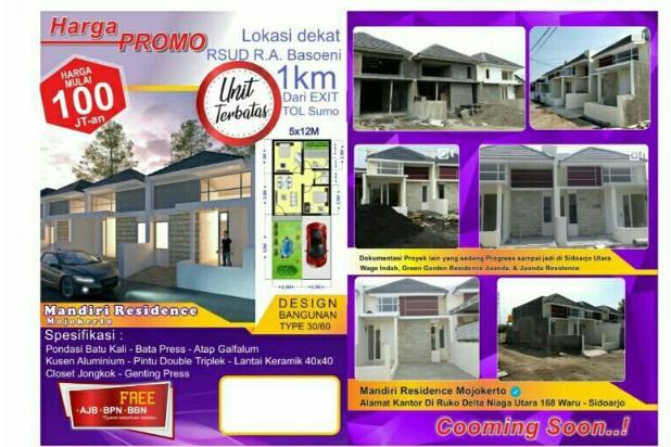 Rp119jt Rumah Dijual