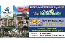Dijual Rumah Cluster Neo Benevento di Citra Raya Tangerang Harga dari 483jt