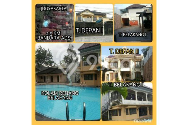 JUAL RUMAH Dekat Bandara (ADA Kolam Renang bisa buat Hotel / Homestay)Rp.9M 21370855