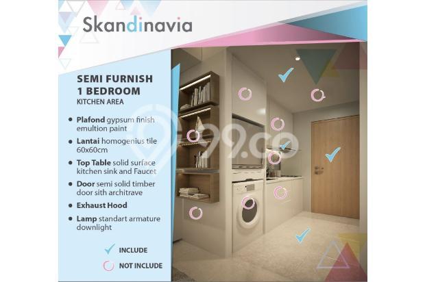 Apartment Skandinavia Tangcity Semi Furnish Dekat Bandara Soetta 13867160