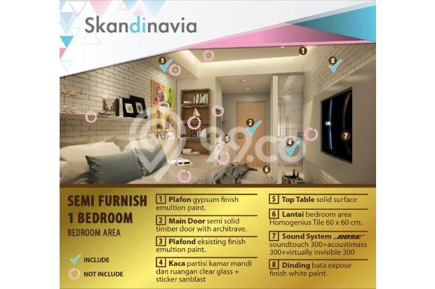 Apartment Skandinavia Tangcity Semi Furnish Dekat Bandara Soetta 13867162