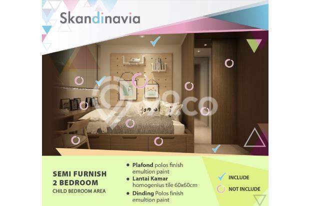 Apartment Skandinavia Tangcity Semi Furnish Dekat Bandara Soetta 13867165