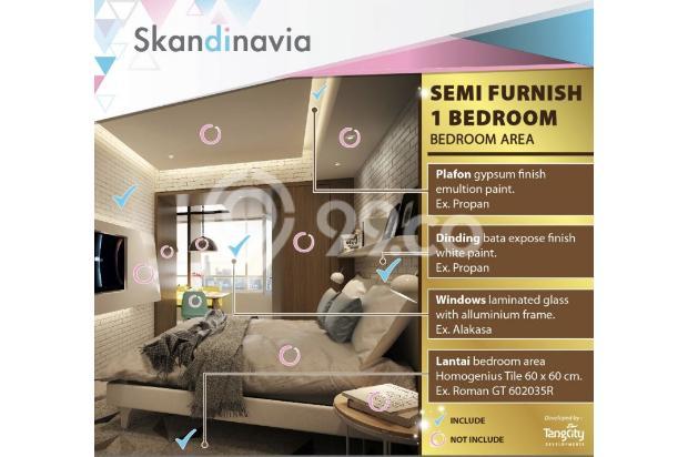 Apartment Skandinavia Tangcity Semi Furnish Dekat Bandara Soetta 13867166