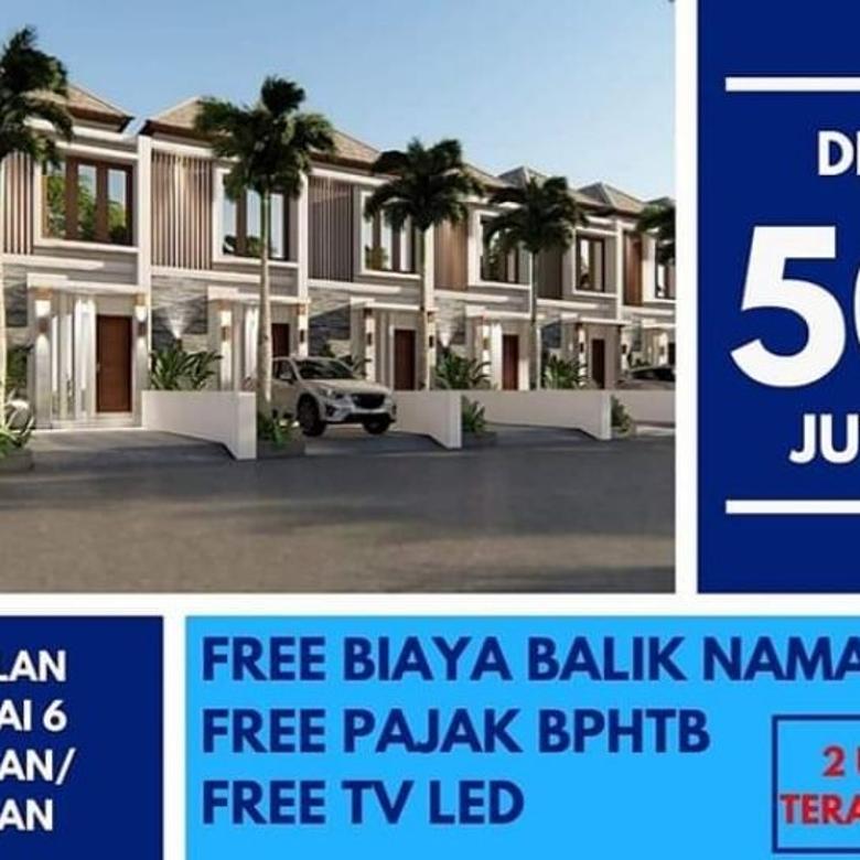 Hot Promo Rumah Lantai 2 Kawasan Elite Renon Bali