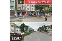 Ruko Palem Lestari. Cengkareng, Jakarta Barat, 4,5x15m, 2½ Lt,