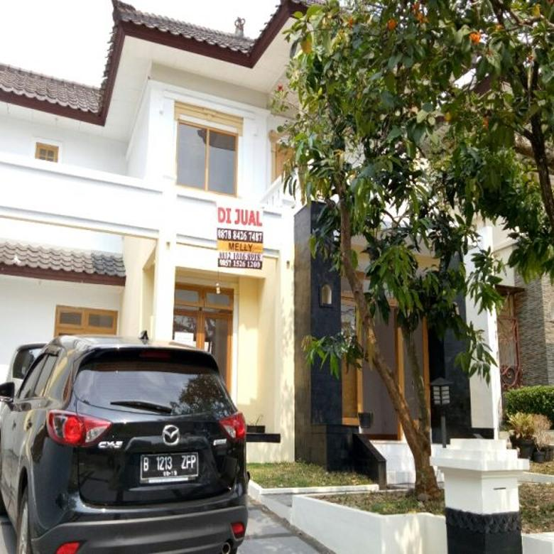 Dijual Rumah Bagus di Perumahan Elit Telaga Golf nuansa Bali Sawangan Depok